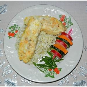 Рыбные колбаски с морковью