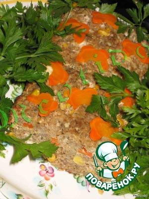 Украсить свежей зеленью.   Приятнейшего Вам аппетита! :)