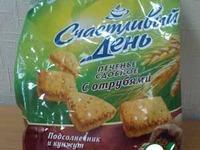 Печенье сдобное с отрубями, семечками подсолнуха и кунжута ингредиенты