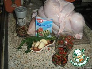 Подготовить вышеперечисленные ингредиенты