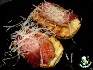 Молодые кабачки с беконом – кулинарный рецепт