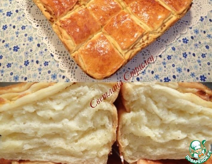 Рецепт: Погача с сыром