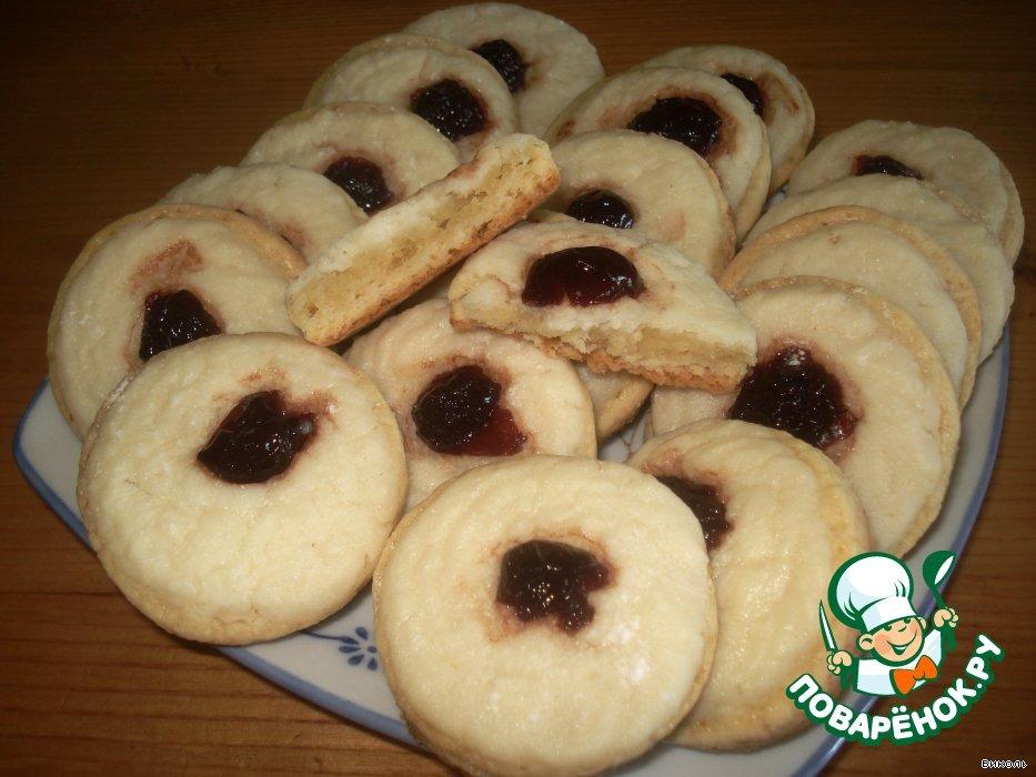 Супер-творожное печенье