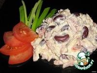 Пикантный салат с фасолью ингредиенты