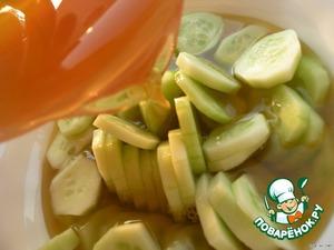 Огуречный крюшон – кулинарный рецепт