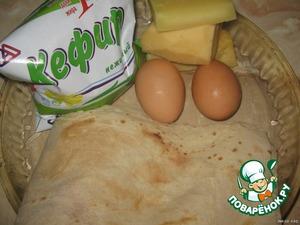 Ленивая ачма из лаваша – кулинарный рецепт