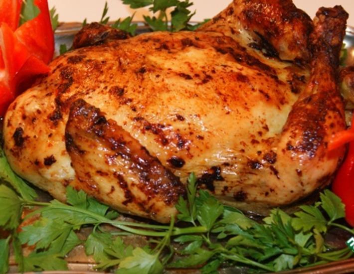 Рецепт: Фаршированная курица