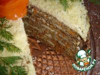 Печеночный торт Для любимого мужа ингредиенты