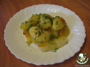 Запеченный картофель с семечками – кулинарный рецепт