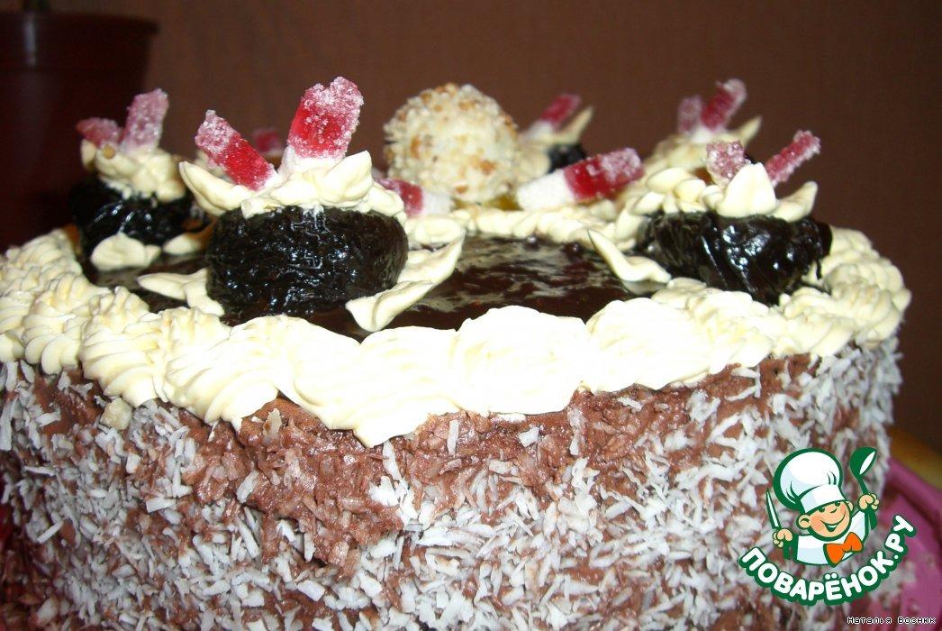 Торт Черносливчик