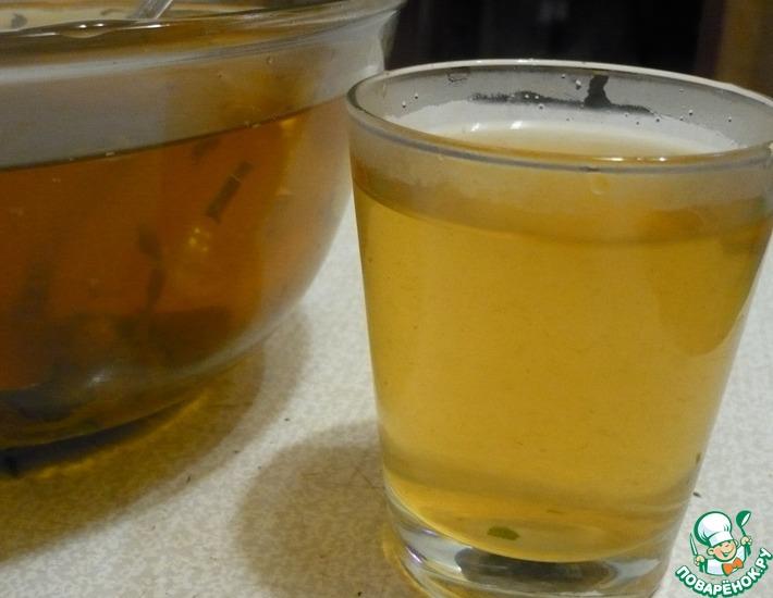 Рецепт: Холодный зеленый чай