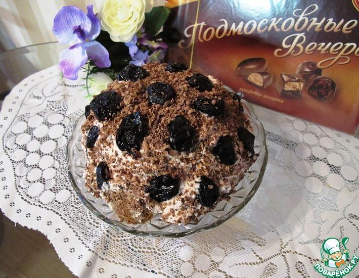 Рецепт: Торты От Мишки и Шоколадно-банановый