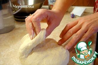 Рецепт: Белый хлеб из дрожжевого теста