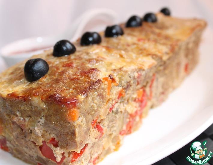 Рецепт: Мясной хлеб с фисташками Митлоф