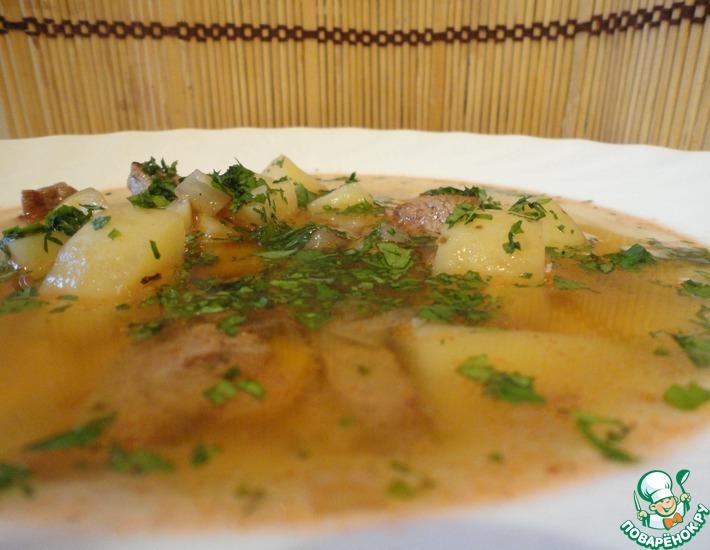 Рецепт: Венгерский суп