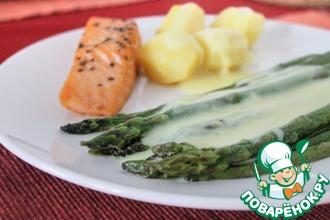 Рецепт: Зеленая спаржа за 10 минут