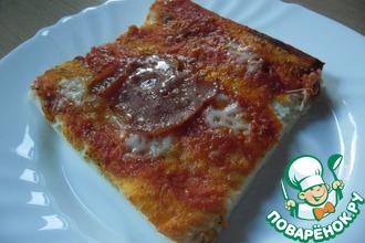 Рецепт: Пицца, как в пиццерии
