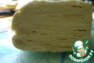 Рецепт: Танюшкино слоеное тесто