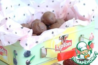 Рецепт: Марципановые конфеты из нута
