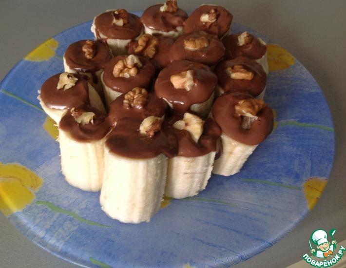Рецепт: Десерт Банановое счастье