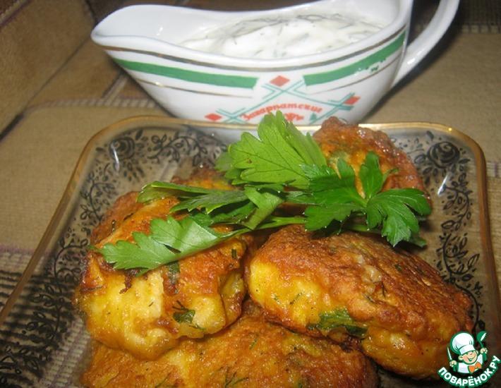 Рецепт: Куриное филе в морковном кляре