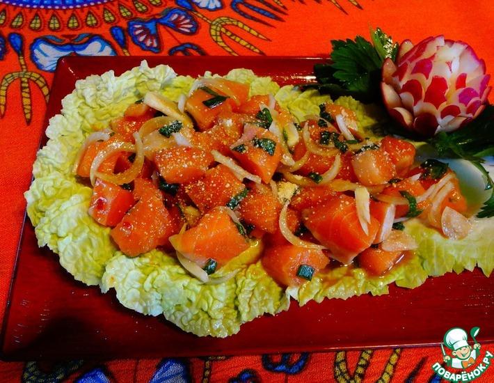 Рецепт: Тайский салат из свежей сёмги