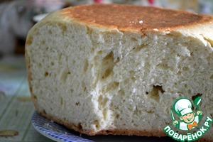 Рецепт Хлеб белый в мультиварке