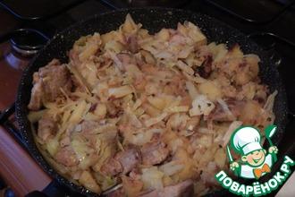 Рецепт: Рагу со свининой (лжебигус)