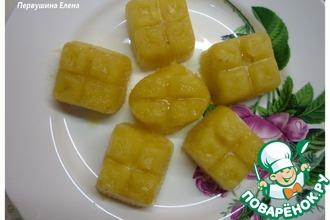 Рецепт: Имбирные конфеты в чай Морозко
