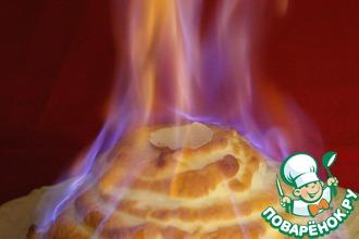 Рецепт: Огненный десерт Аляска