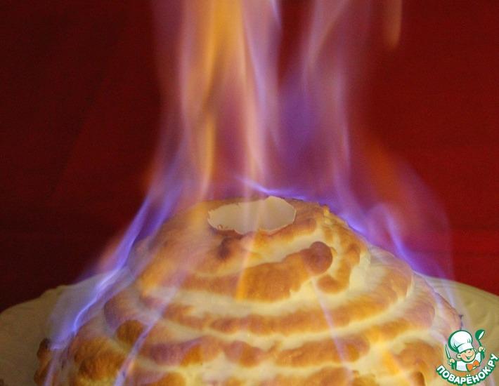 """Огненный десерт """"Аляска"""""""