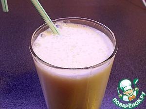 Рецепт Бананово-молочный коктейль