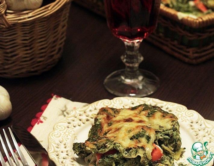 Рецепт: Восхитительная рыбная лазанья