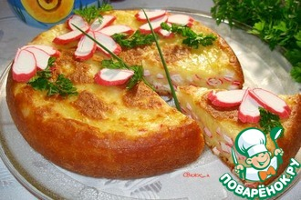 Рецепт: Пирог из мультиварки