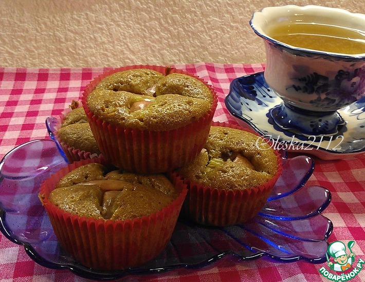 Рецепт: Кексы на яблочном сидре