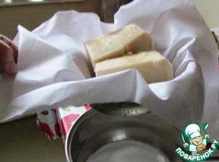 Запеченный крем из ряженки