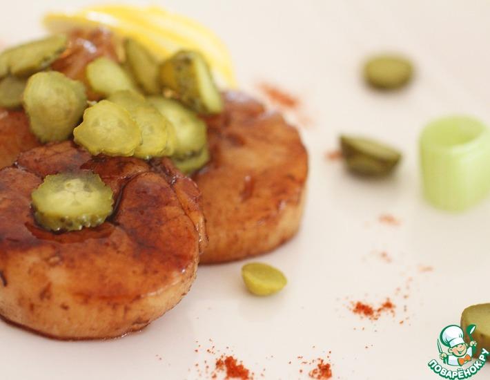 Рецепт: Морской гребешок в кисло-сладком соусе
