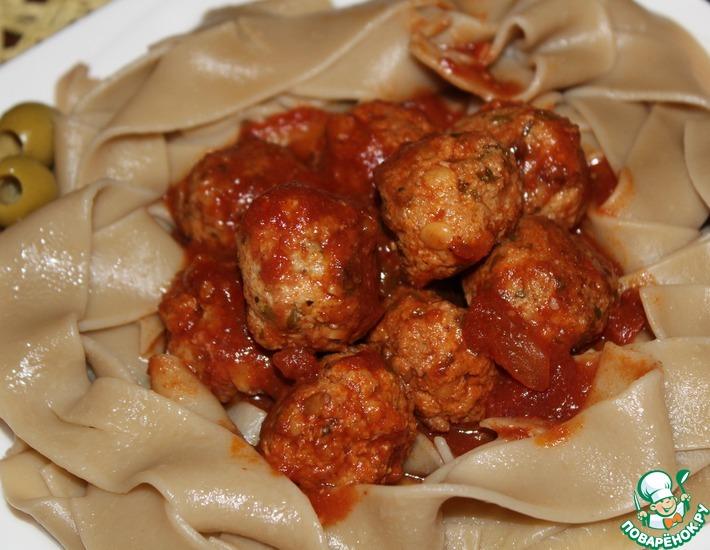 Рецепт: Тефтели в итальянском стиле