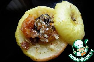Рецепт: Запеченное яблоко