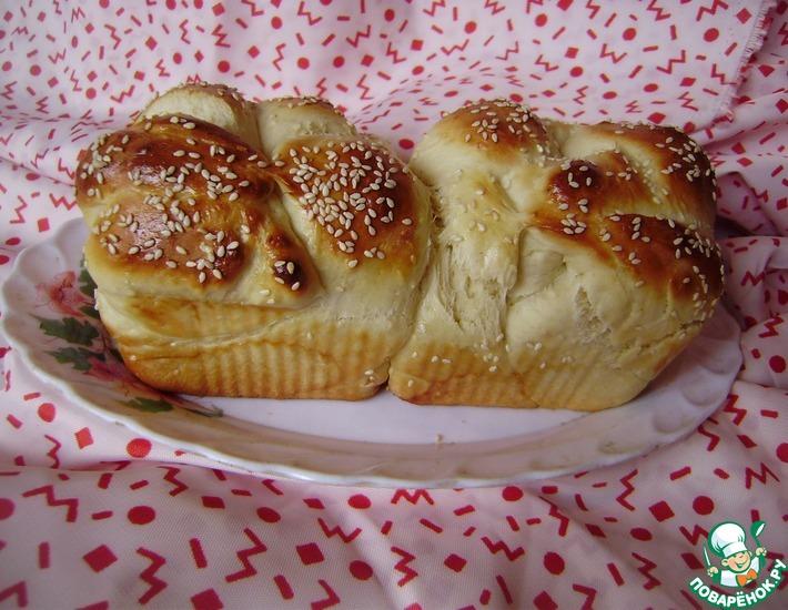 Рецепт: Кунжутный хлеб