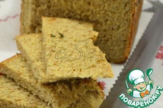 Рецепт: Цельнозерновой хлеб с отрубями и семечками