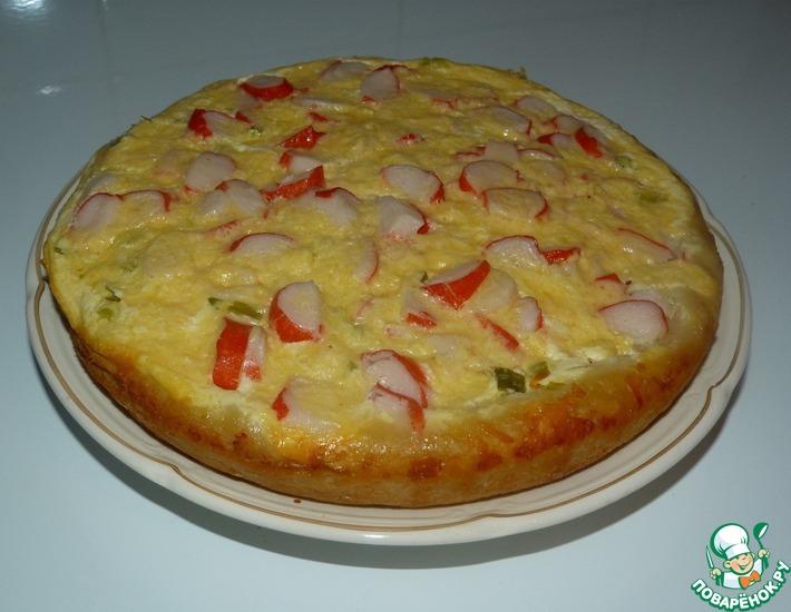 Рецепт: Картофельный закусочный пирог