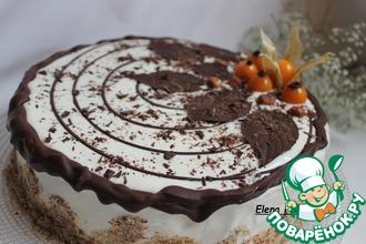 Рецепт: Торт Трухлявый пень