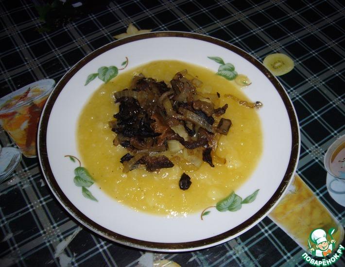 Рецепт: Тыквенное пюре с грибами