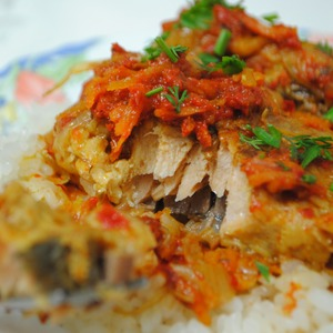 Фото: Рыба под маринадом
