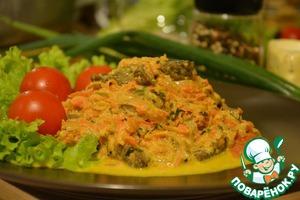 Рецепт Говядина в соевом соусе