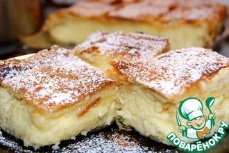 Рецепт: Бугаца-традиционный греческий пирог с кремом