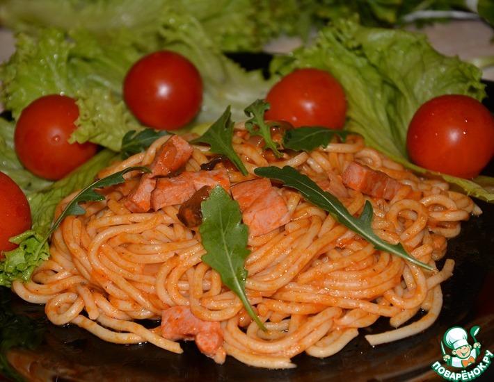 Рецепт: Спагетти по-милански