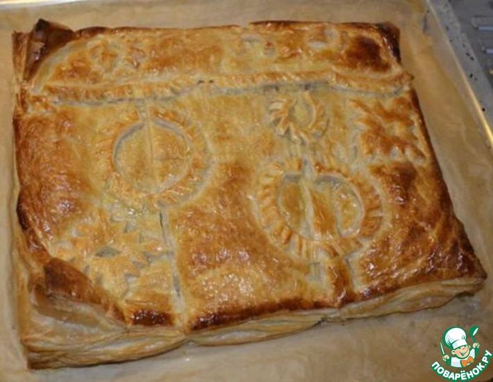Рецепт: Пирог-курник