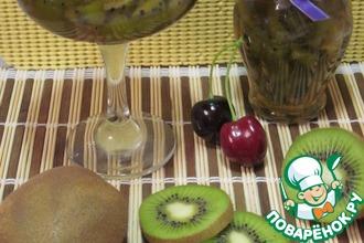 Рецепт: Варенье из киви с белым вином